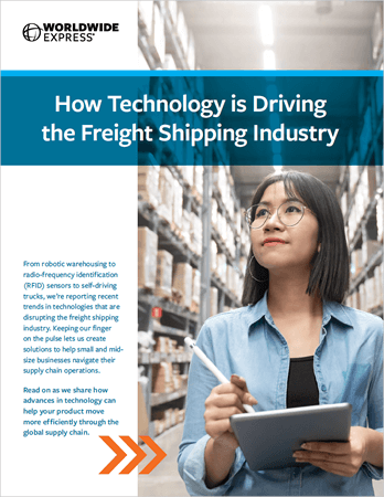 Technology Driving the Freight Shipping Industry